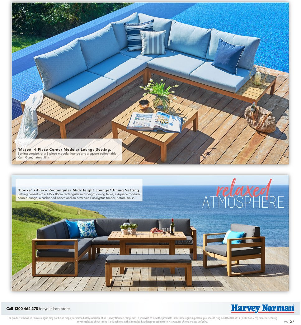 Harvey Norman catalogue  - 7.9.2018 - 30.9.2018. Page 27.