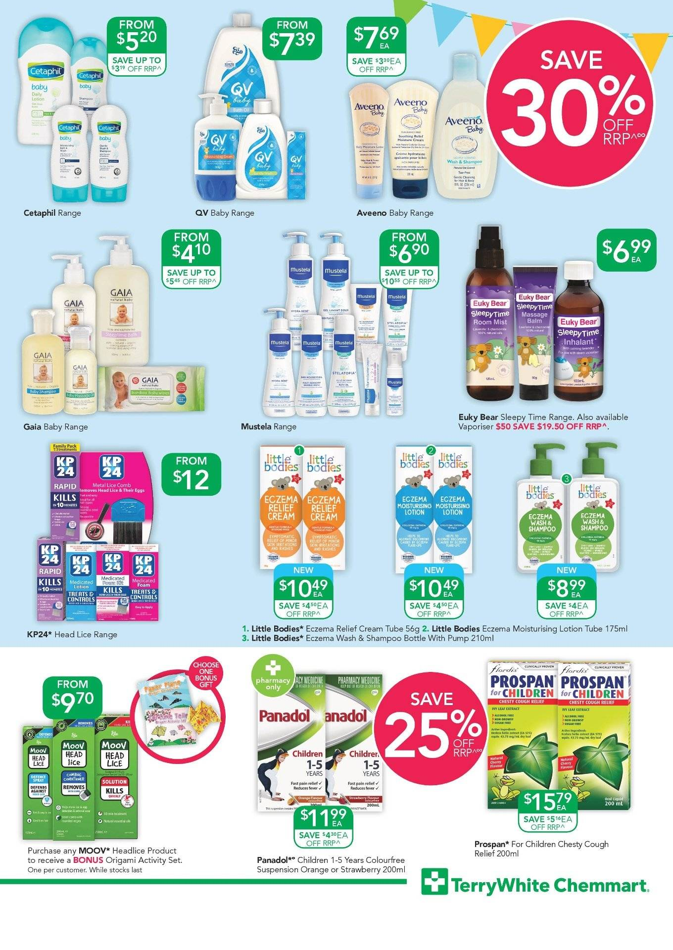 TerryWhite Chemmart catalogue  - 20.9.2018 - 9.10.2018. Page 3.