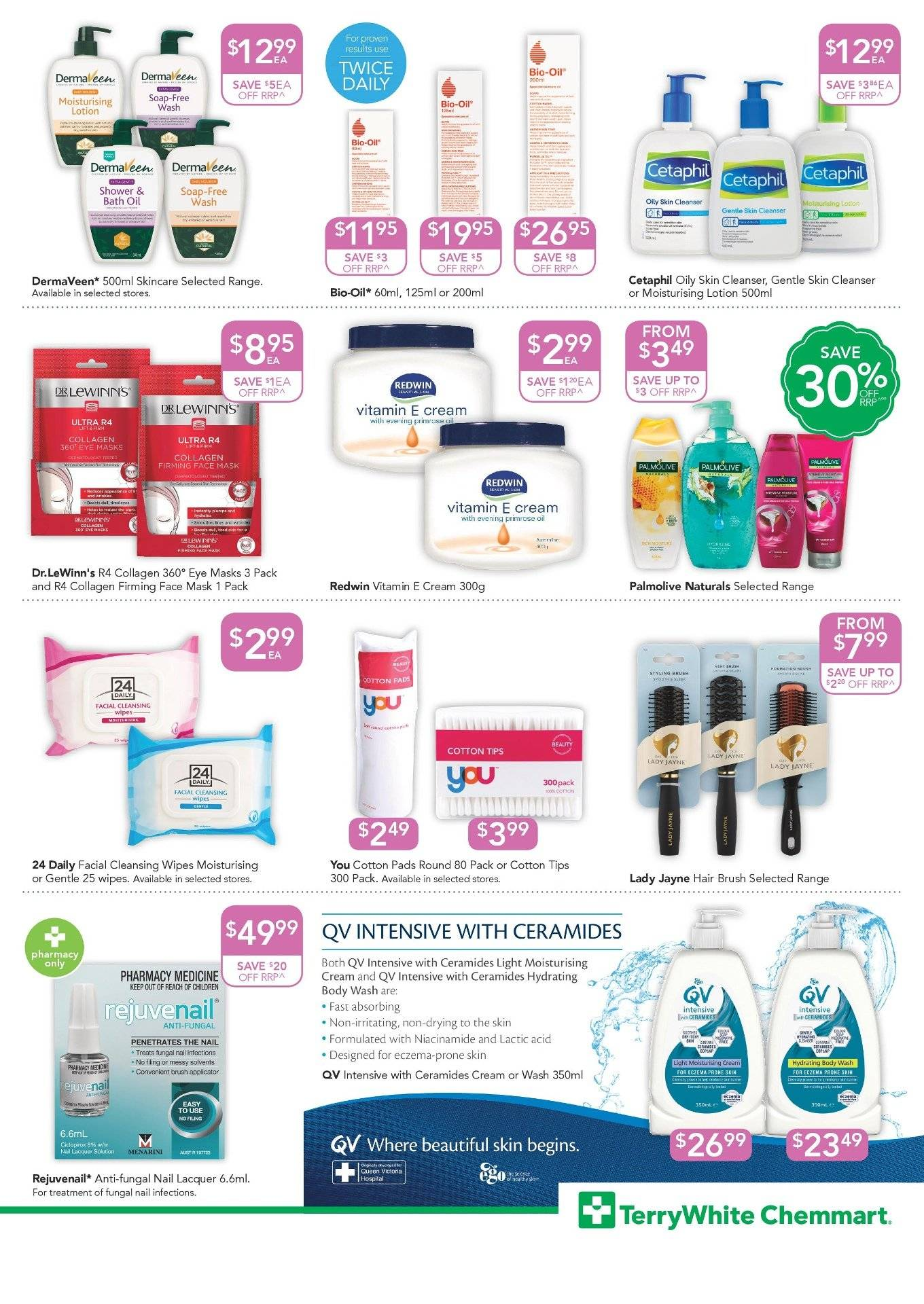 TerryWhite Chemmart catalogue  - 20.9.2018 - 9.10.2018. Page 7.