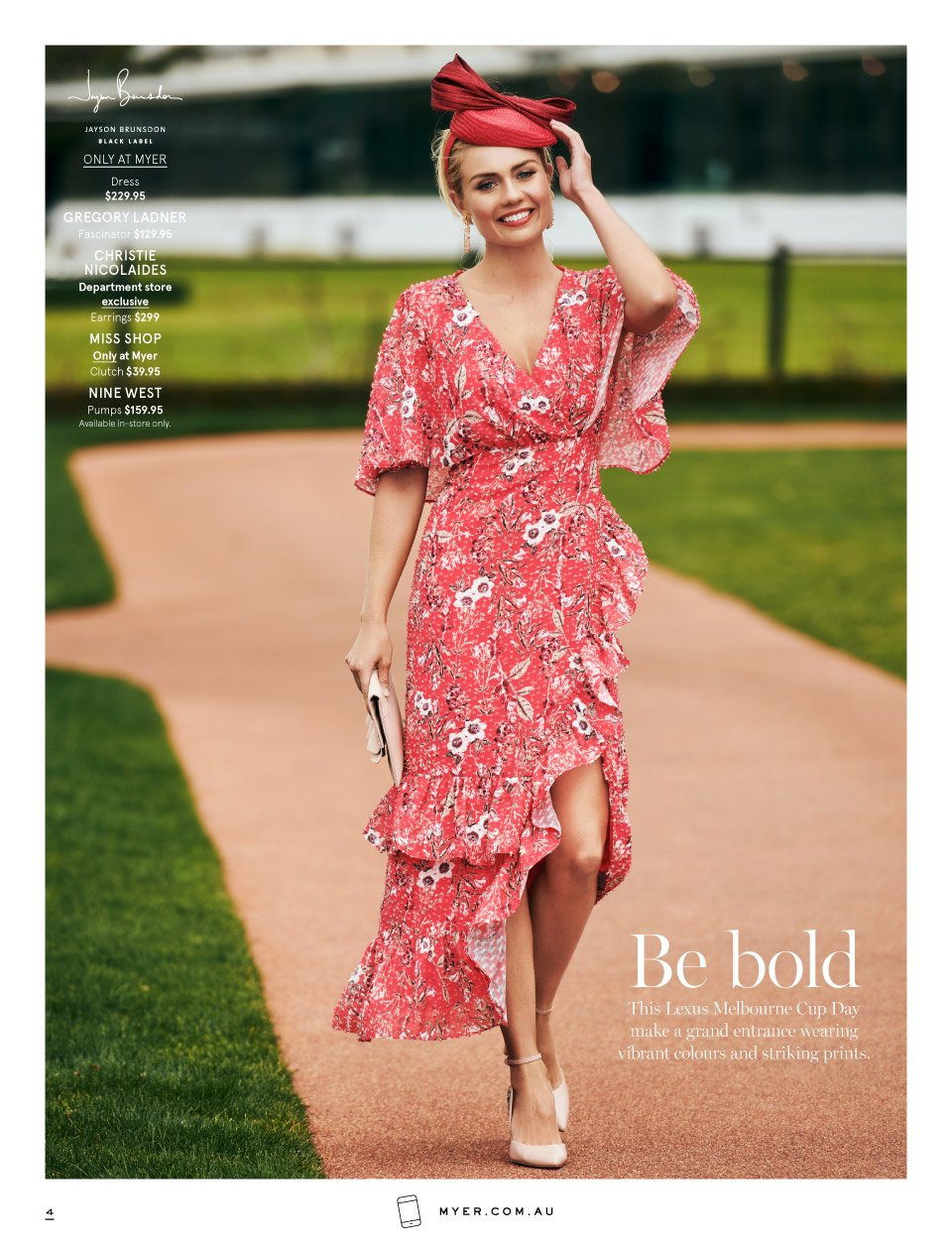 Myer catalogue  - 7.10.2018 - 11.11.2018. Page 4.