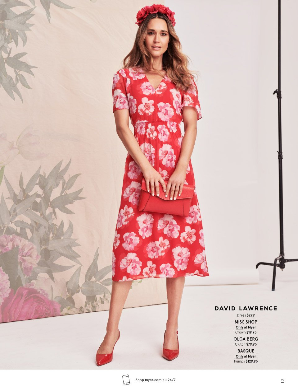 Myer catalogue  - 7.10.2018 - 11.11.2018. Page 5.