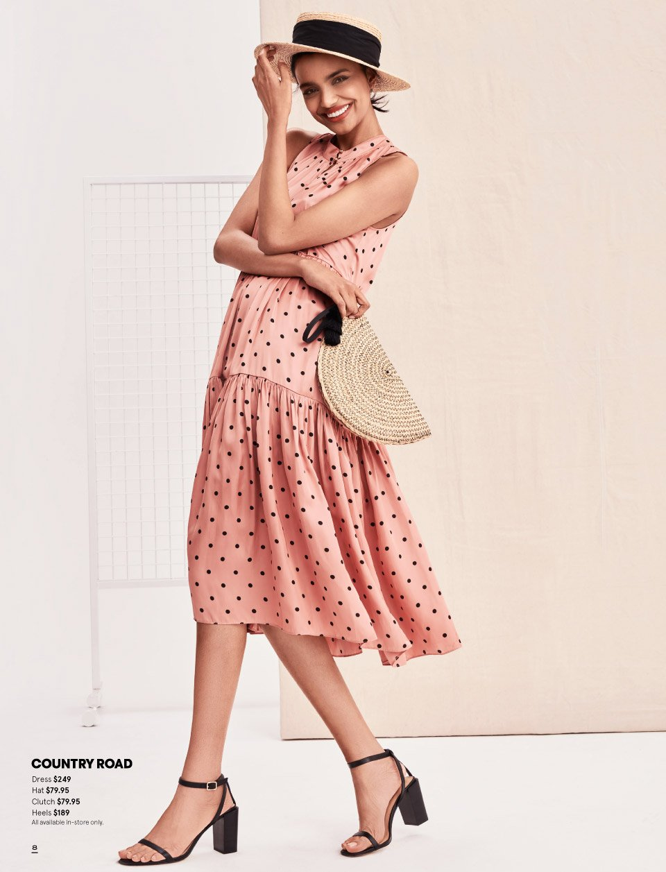 Myer catalogue  - 7.10.2018 - 11.11.2018. Page 8.