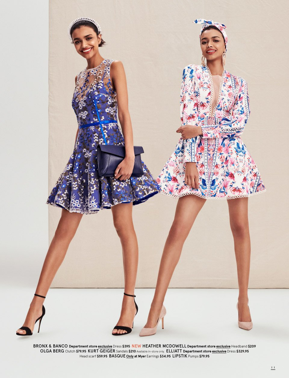 Myer catalogue  - 7.10.2018 - 11.11.2018. Page 11.