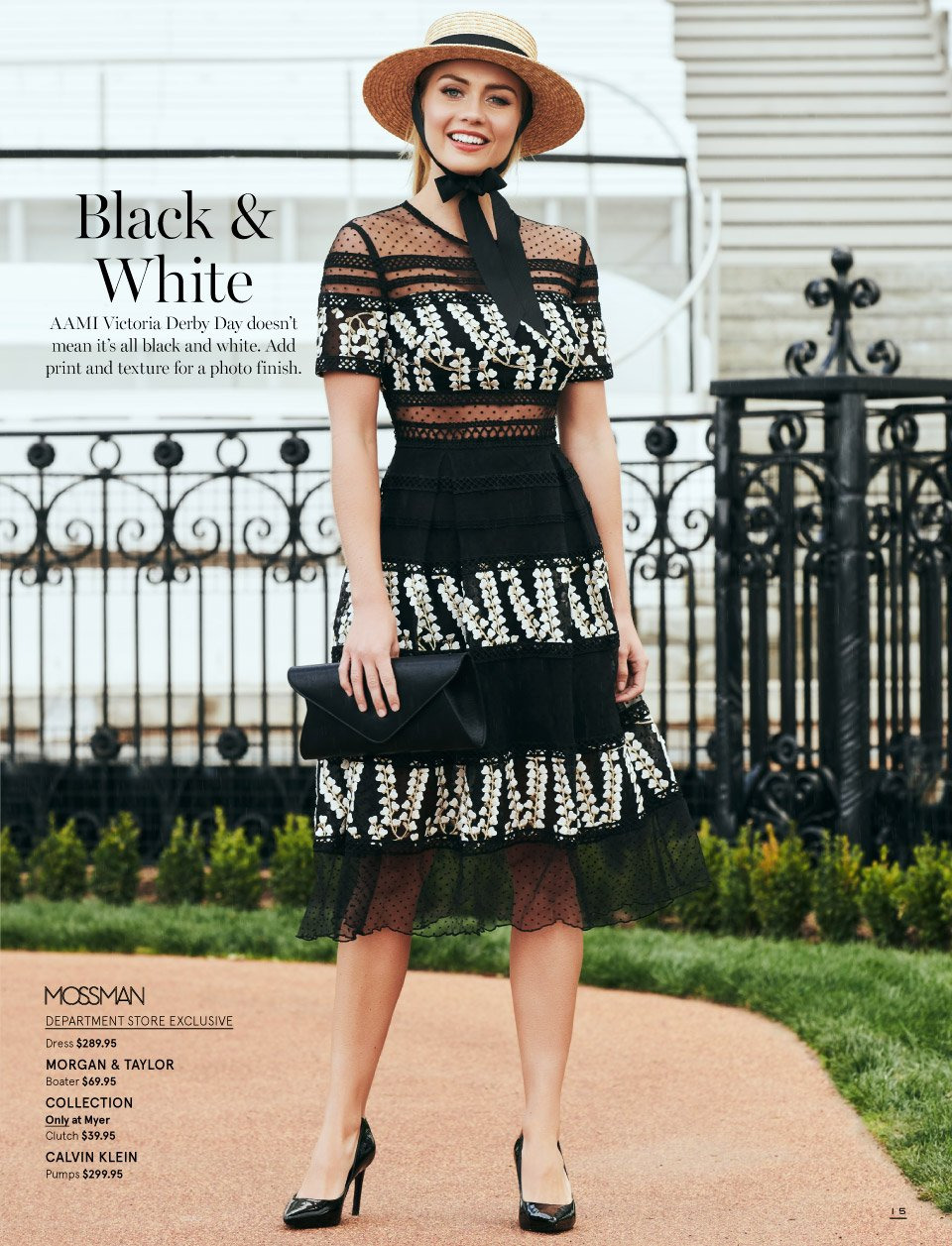 Myer catalogue  - 7.10.2018 - 11.11.2018. Page 15.