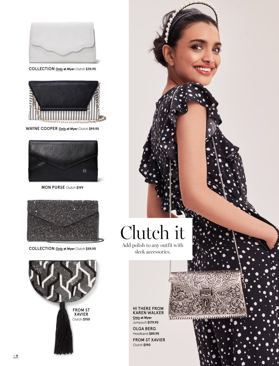 Myer catalogue  - 7.10.2018 - 11.11.2018. Page 18.