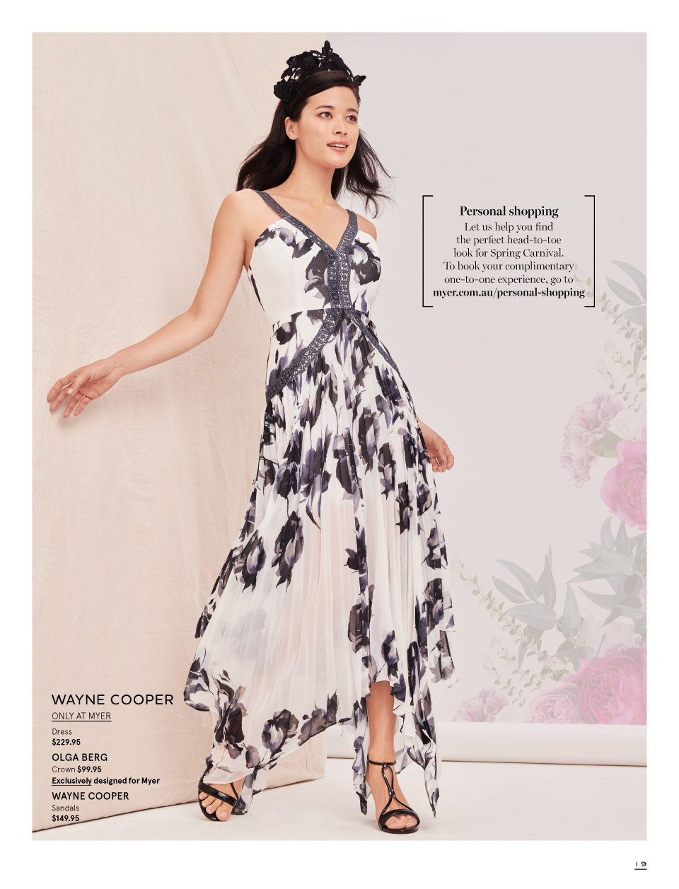 Myer catalogue  - 7.10.2018 - 11.11.2018. Page 19.