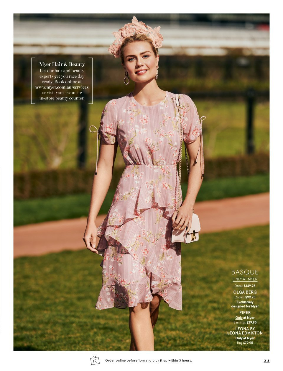 Myer catalogue  - 7.10.2018 - 11.11.2018. Page 33.