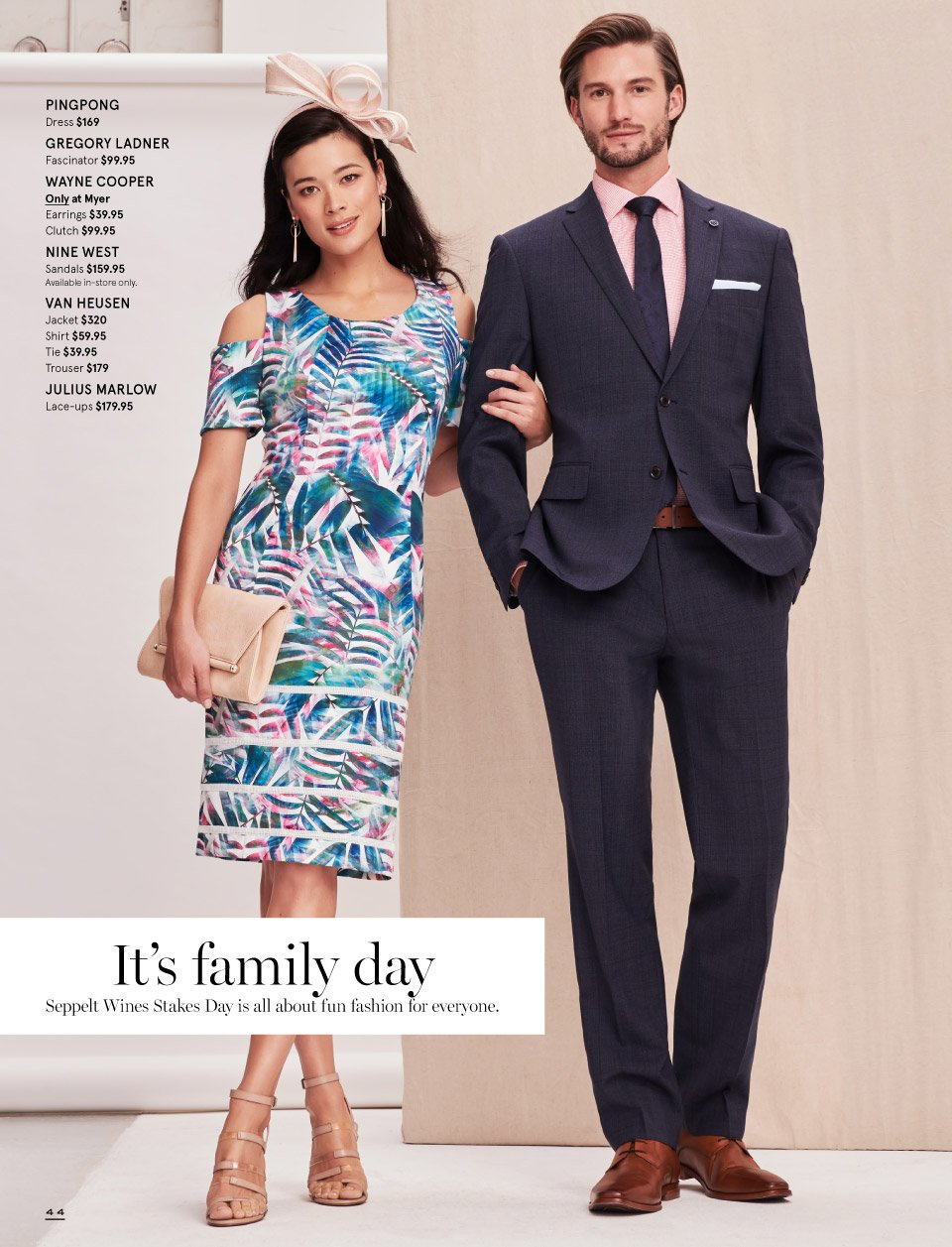 Myer catalogue  - 7.10.2018 - 11.11.2018. Page 44.