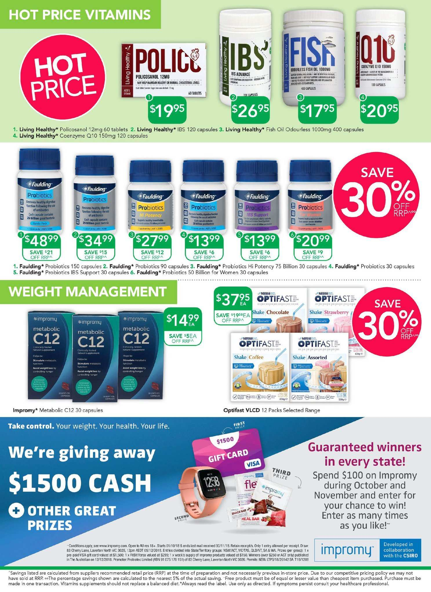 TerryWhite Chemmart catalogue  - 11.10.2018 - 30.10.2018. Page 2.