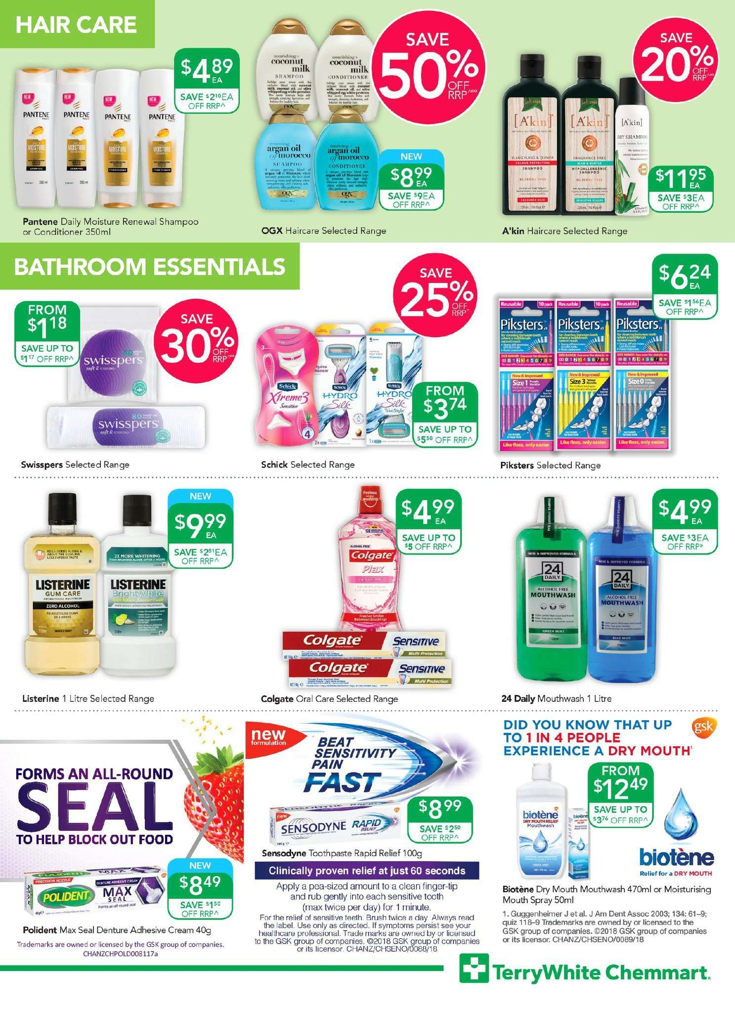 TerryWhite Chemmart catalogue  - 11.10.2018 - 30.10.2018. Page 7.