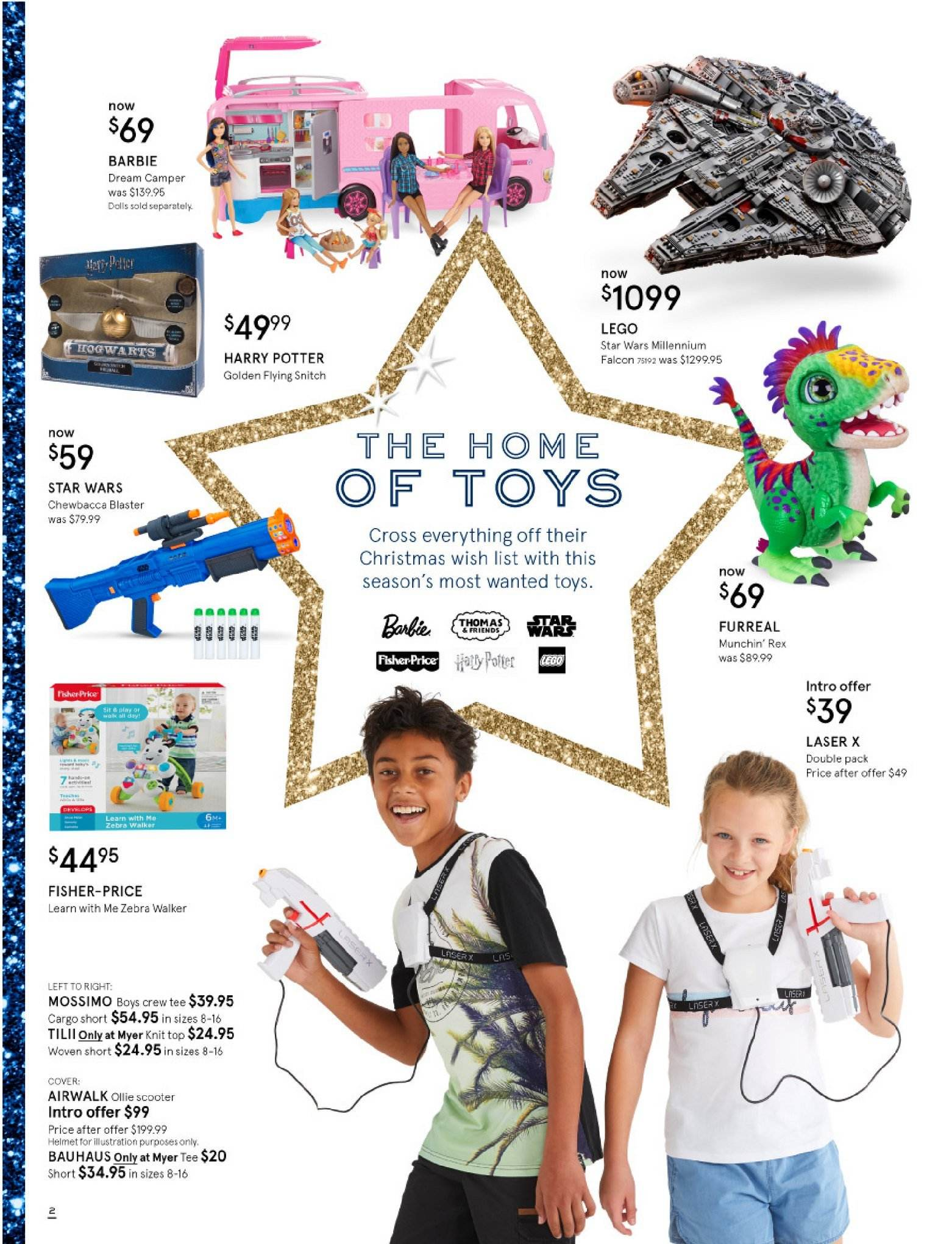 Myer catalogue  - 30.10.2018 - 25.11.2018. Page 2.