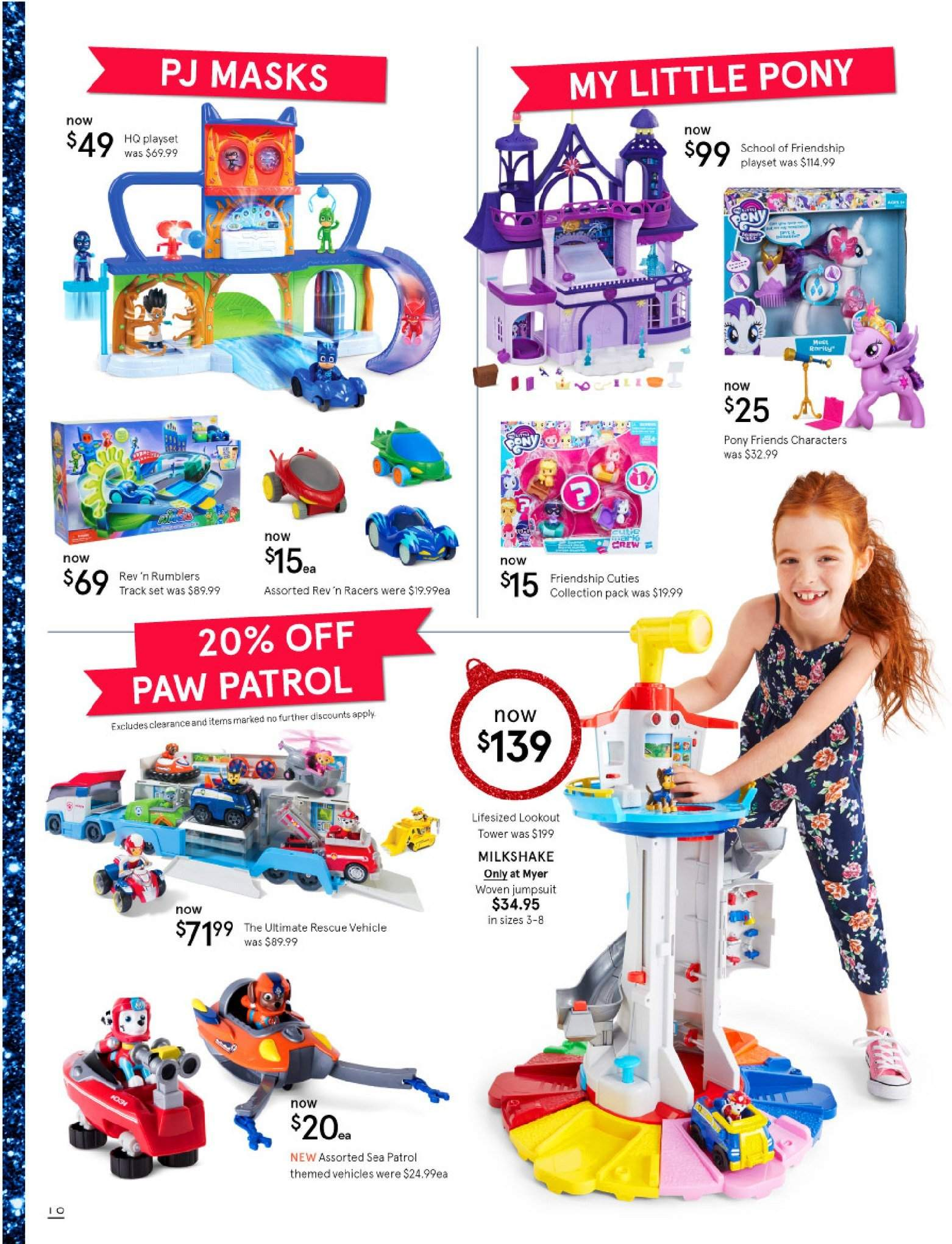 Myer catalogue  - 30.10.2018 - 25.11.2018. Page 10.