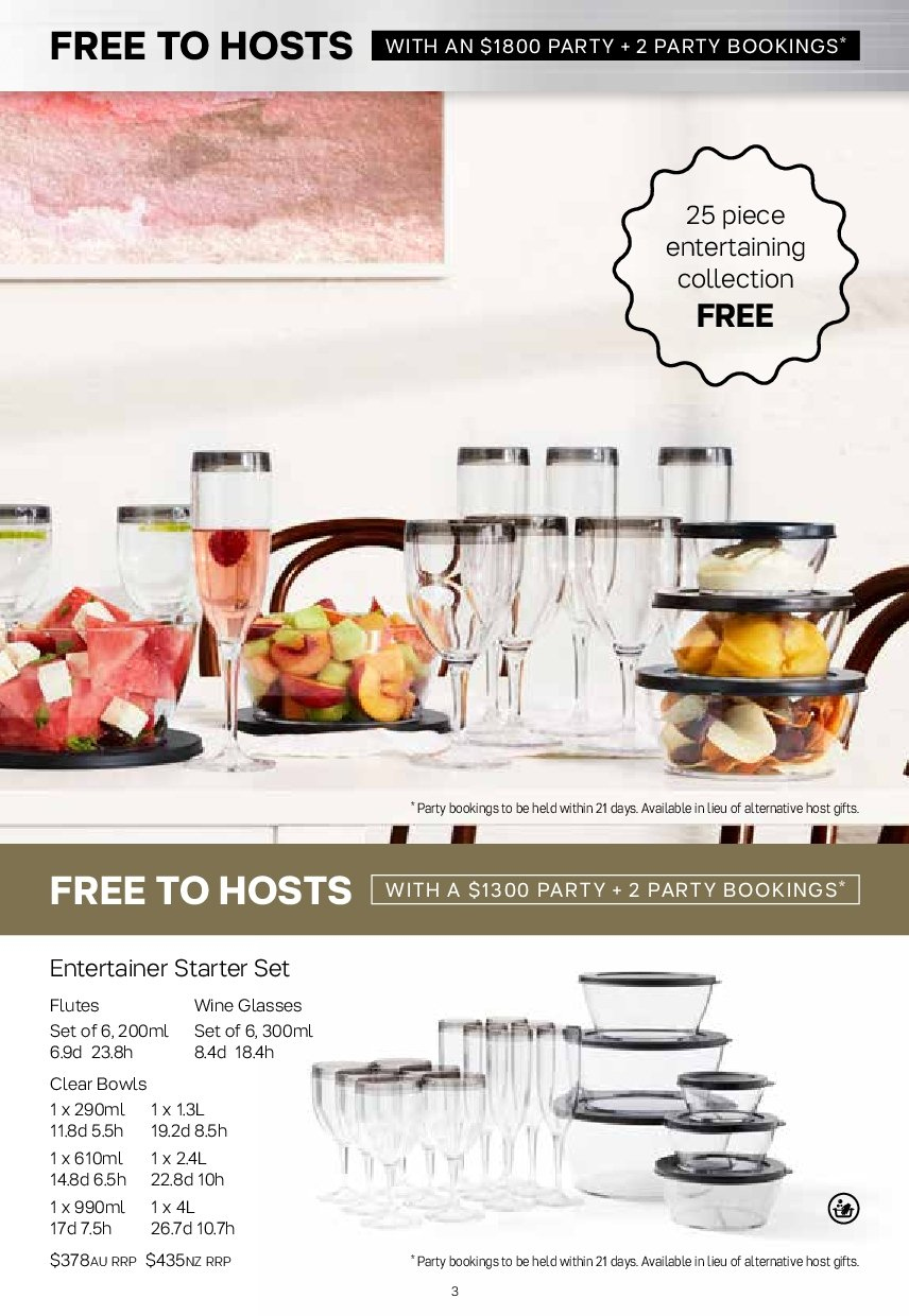 Tupperware catalogue  - 19.11.2018 - 25.11.2018. Page 3.