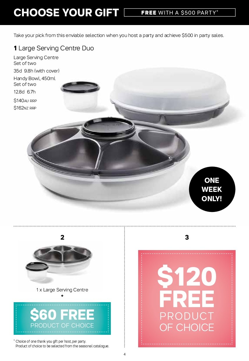 Tupperware catalogue  - 19.11.2018 - 25.11.2018. Page 4.