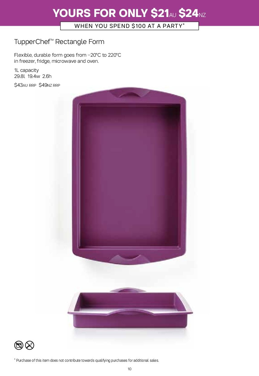 Tupperware catalogue  - 19.11.2018 - 25.11.2018. Page 10.
