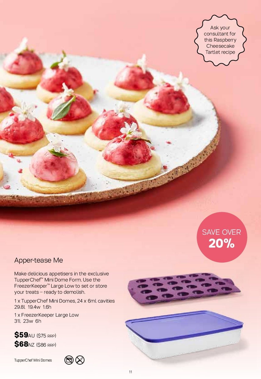 Tupperware catalogue  - 19.11.2018 - 25.11.2018. Page 11.