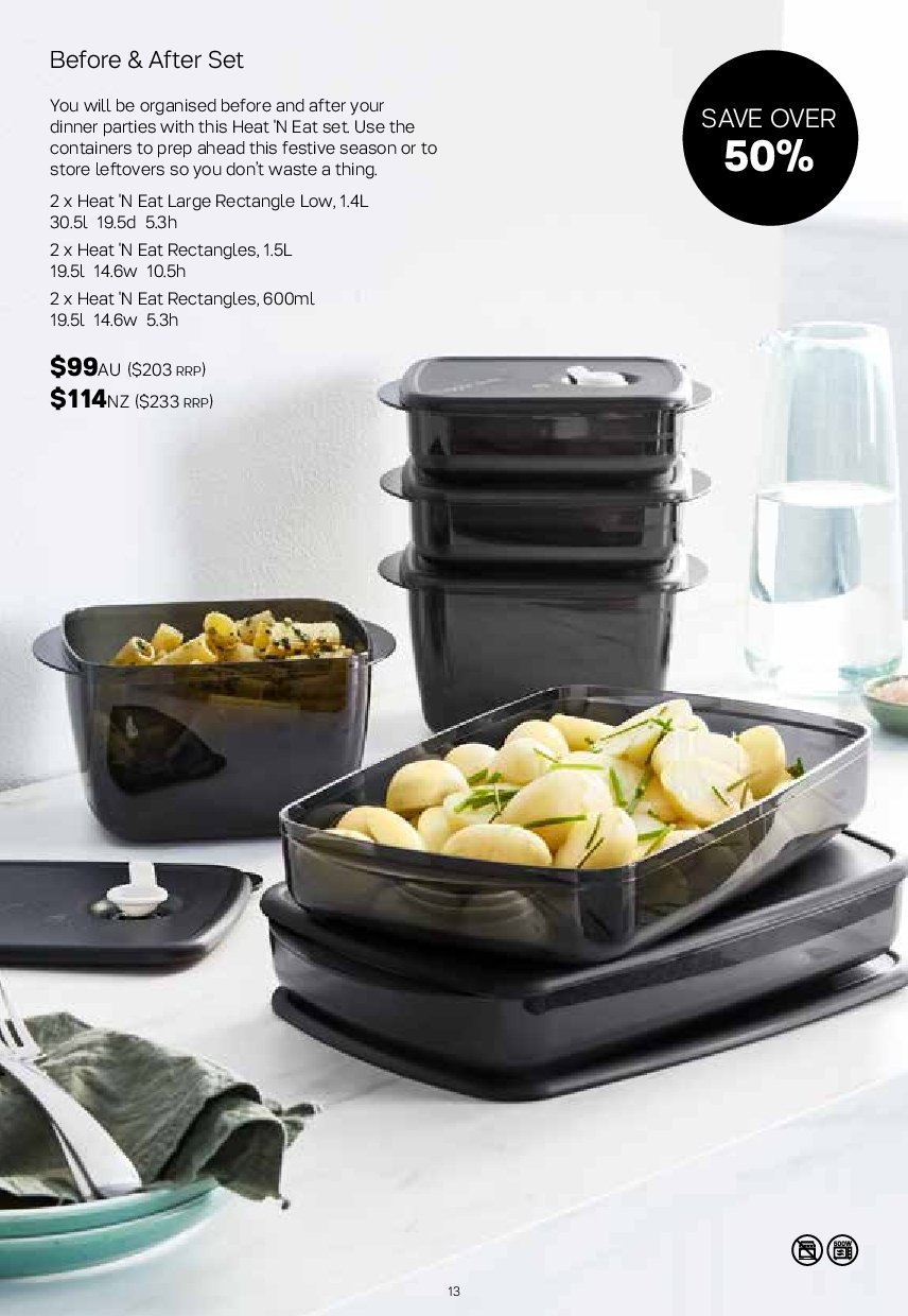 Tupperware catalogue  - 19.11.2018 - 25.11.2018. Page 13.
