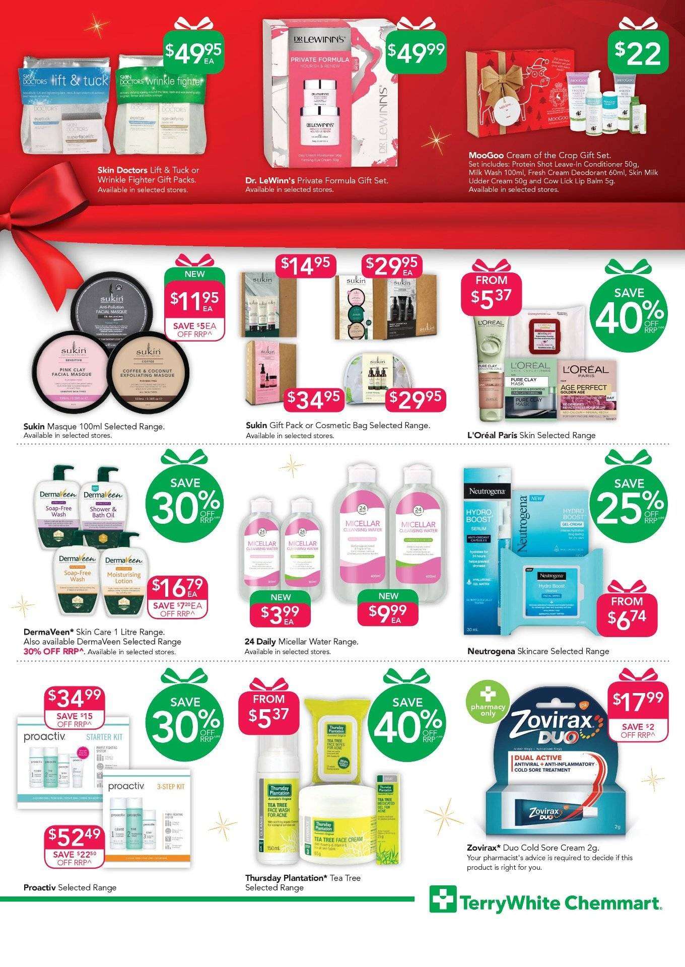 TerryWhite Chemmart catalogue  - 22.11.2018 - 11.12.2018. Page 3.