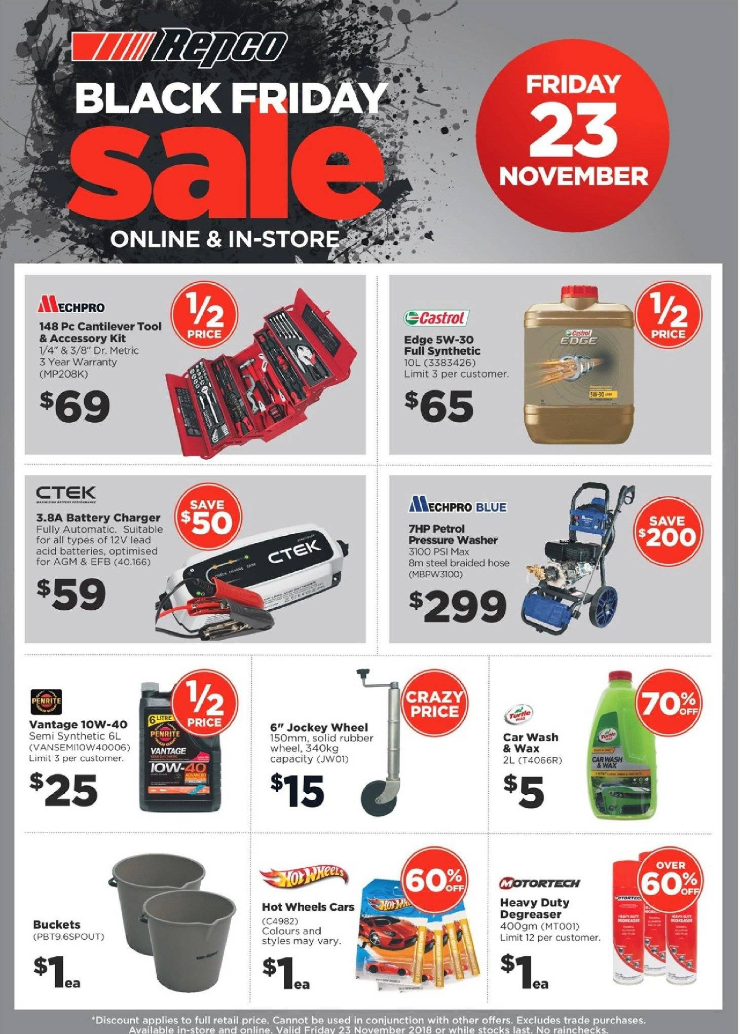 Repco catalogue  - 23.11.2018 - 23.11.2018. Page 1.