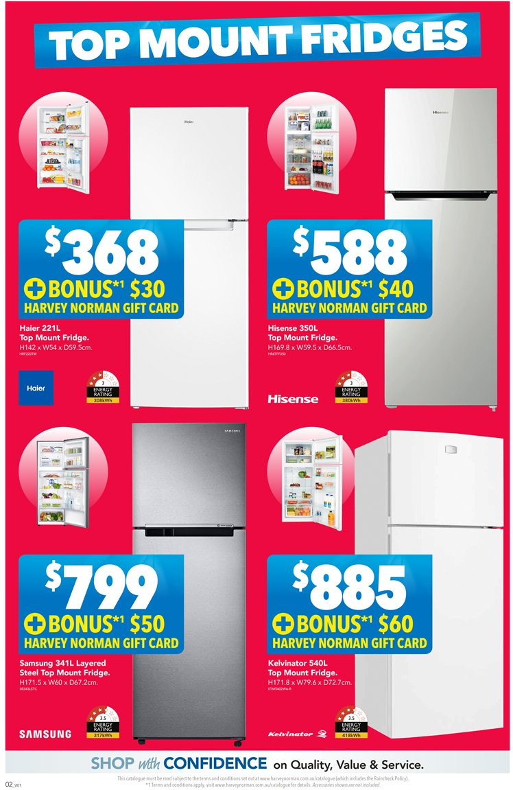Harvey Norman catalogue  - 23.11.2018 - 9.12.2018. Page 2.
