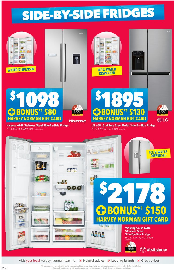 Harvey Norman catalogue  - 23.11.2018 - 9.12.2018. Page 6.