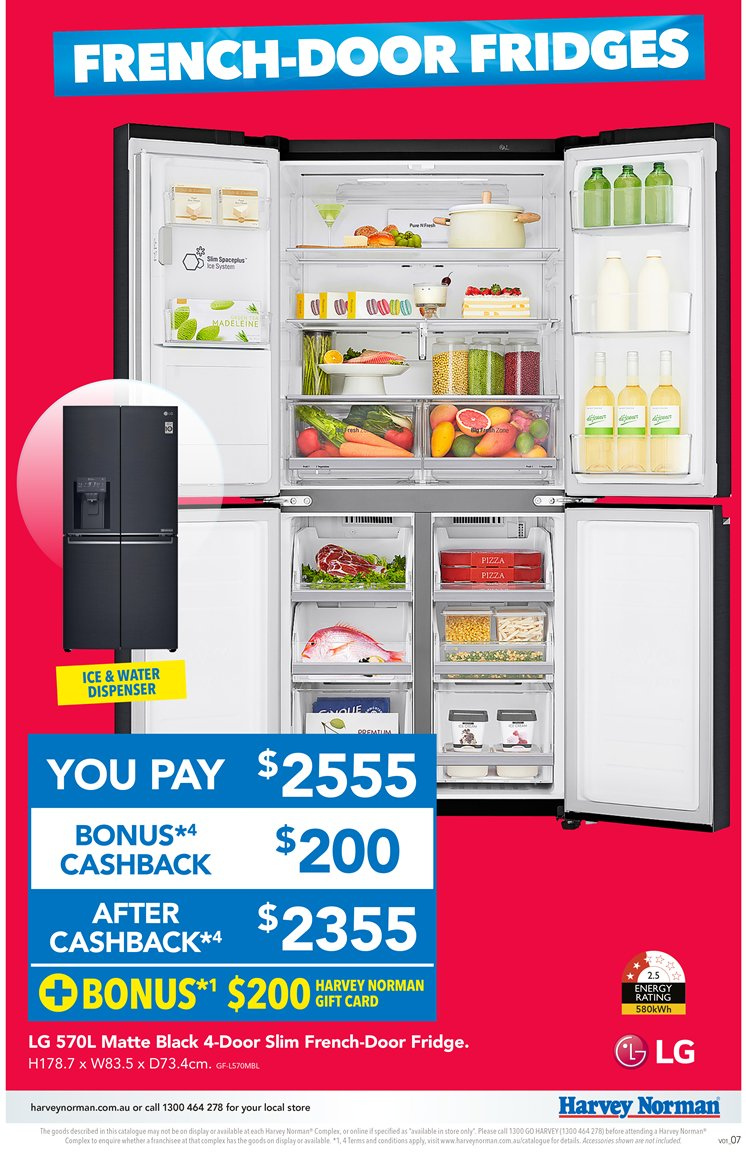 Harvey Norman catalogue  - 23.11.2018 - 9.12.2018. Page 7.