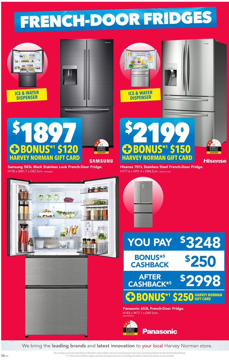 Harvey Norman catalogue  - 23.11.2018 - 9.12.2018. Page 8.