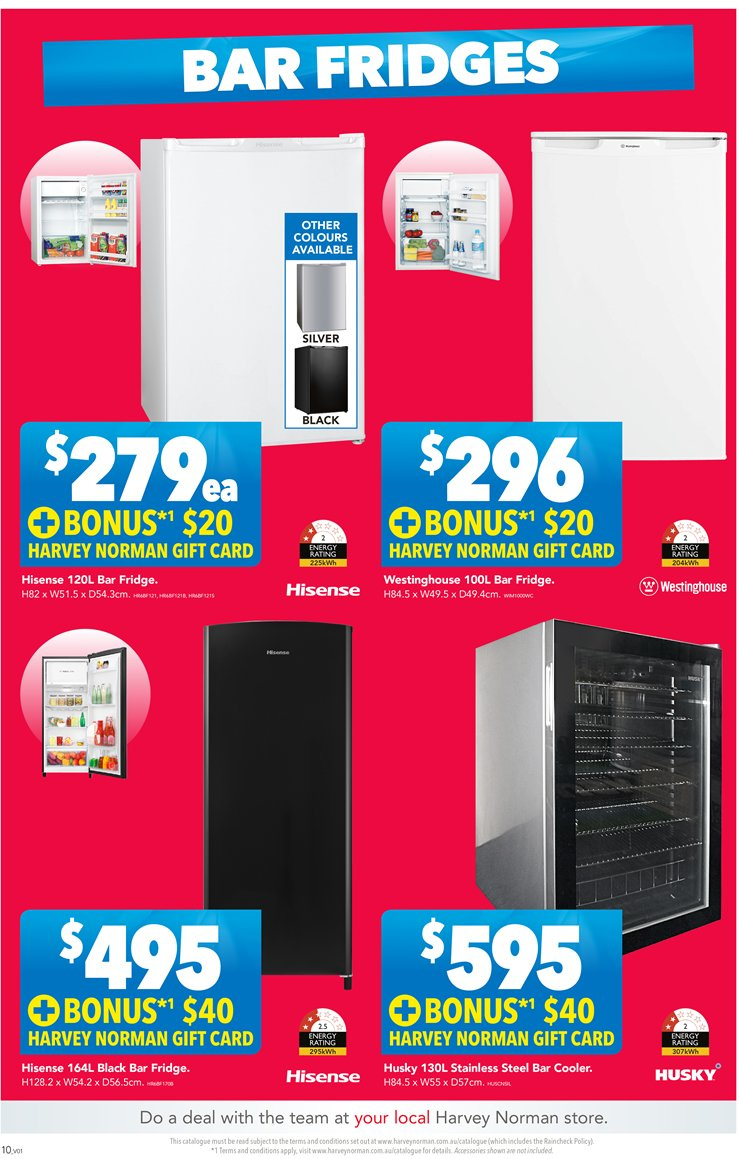 Harvey Norman catalogue  - 23.11.2018 - 9.12.2018. Page 10.