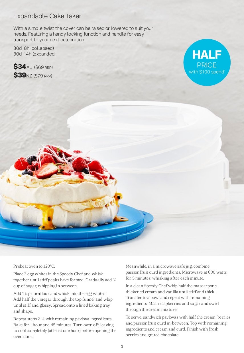 Tupperware catalogue  - 26.11.2018 - 30.12.2018. Page 3.