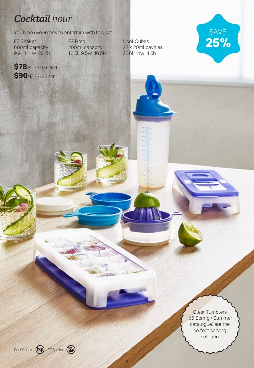 Tupperware catalogue  - 26.11.2018 - 30.12.2018. Page 4.