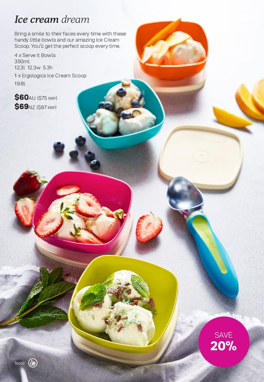 Tupperware catalogue  - 26.11.2018 - 30.12.2018. Page 5.