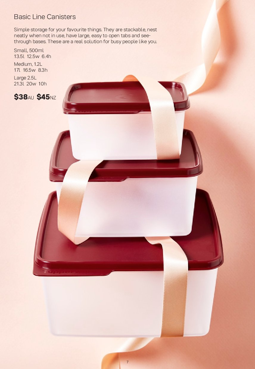 Tupperware catalogue  - 26.11.2018 - 30.12.2018. Page 7.