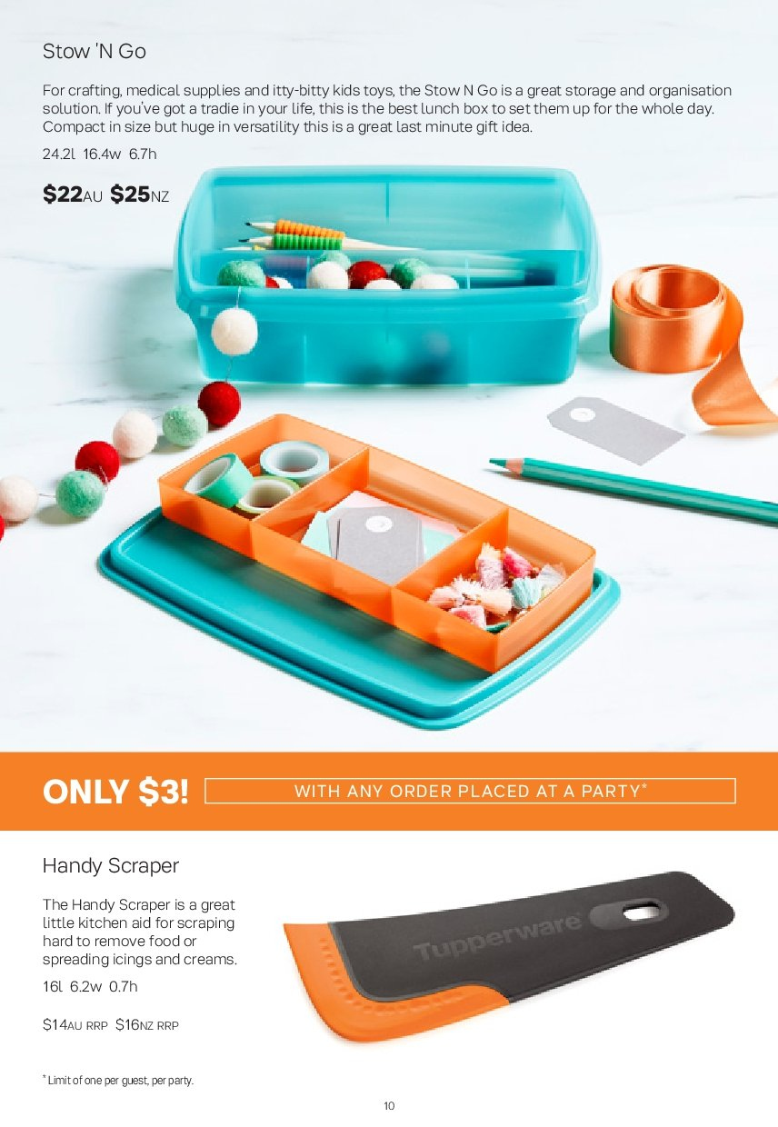Tupperware catalogue  - 26.11.2018 - 30.12.2018. Page 10.