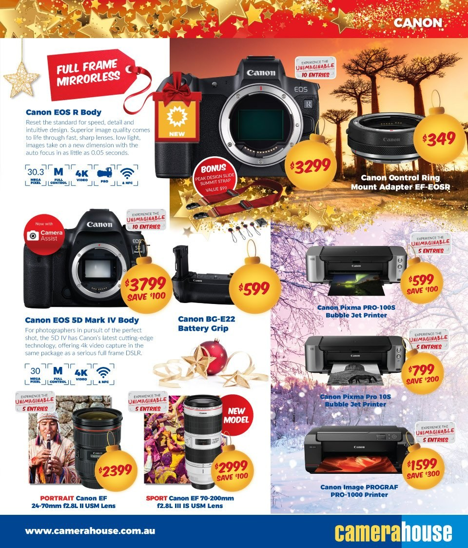 Camera House catalogue  - 27.11.2018 - 24.12.2018. Page 5.