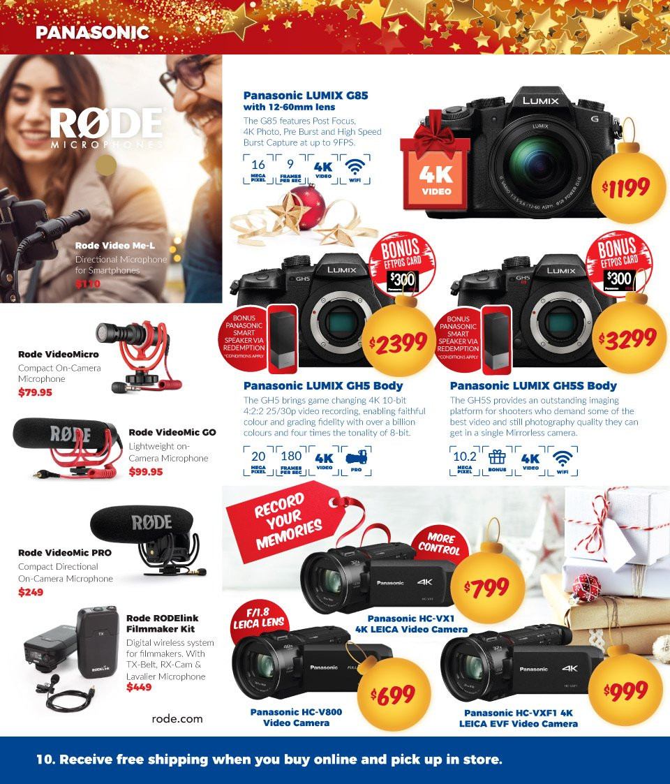 Camera House catalogue  - 27.11.2018 - 24.12.2018. Page 10.