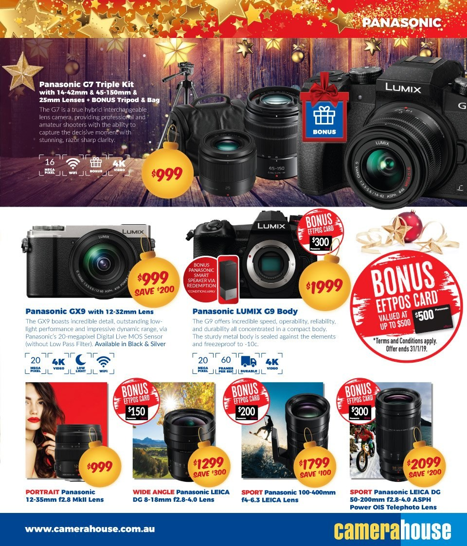 Camera House catalogue  - 27.11.2018 - 24.12.2018. Page 11.