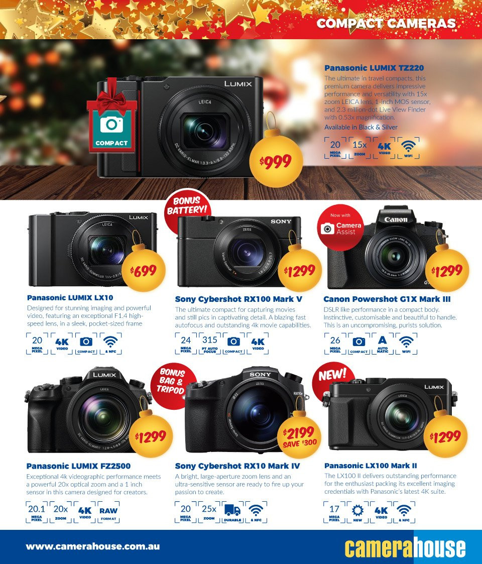 Camera House catalogue  - 27.11.2018 - 24.12.2018. Page 17.