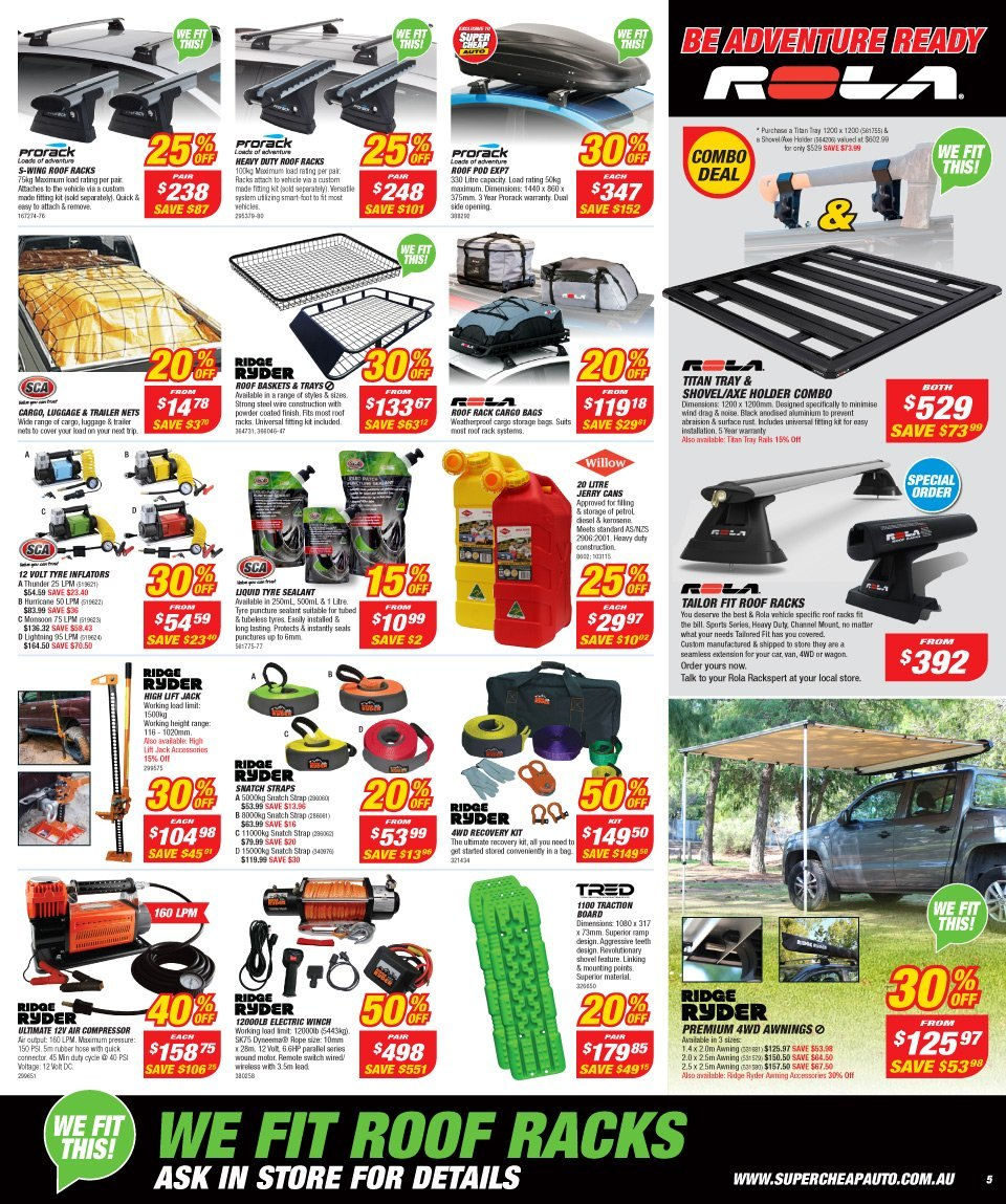 Supercheap Auto catalogue  - 12.12.2018 - 23.12.2018. Page 5.