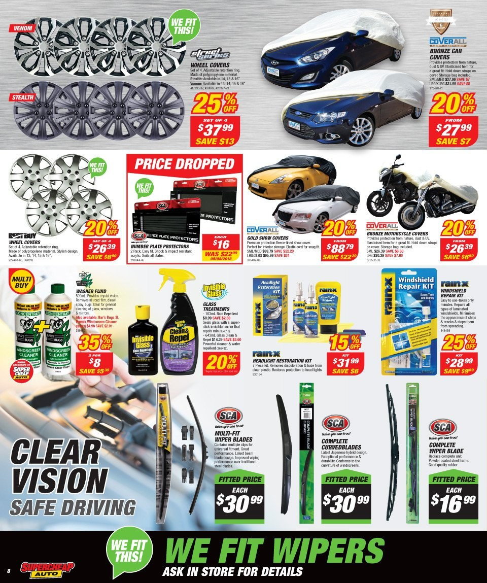 Supercheap Auto catalogue  - 12.12.2018 - 23.12.2018. Page 8.