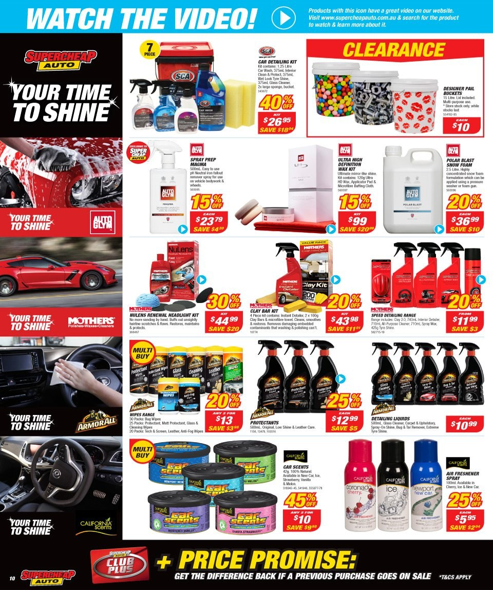 Supercheap Auto catalogue  - 12.12.2018 - 23.12.2018. Page 10.