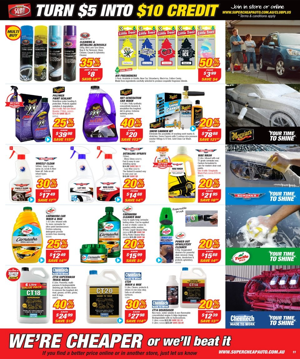 Supercheap Auto catalogue  - 12.12.2018 - 23.12.2018. Page 11.