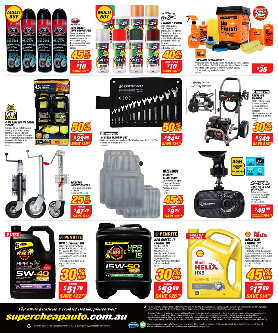 Supercheap Auto catalogue  - 12.12.2018 - 23.12.2018. Page 20.