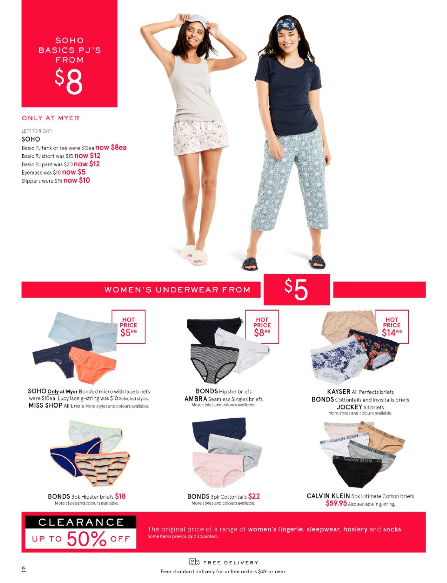 Myer catalogue  - 26.12.2018 - 28.1.2019. Page 6.
