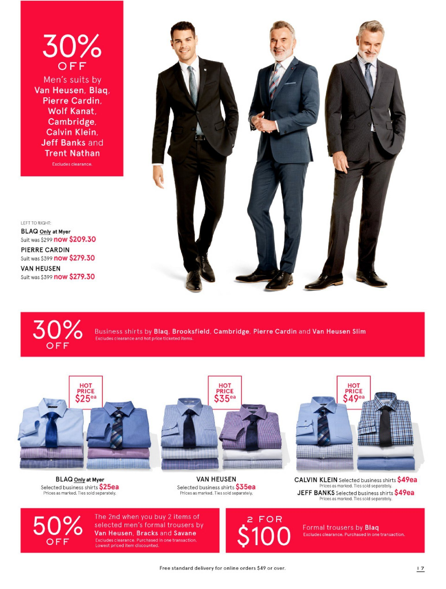 Myer catalogue  - 26.12.2018 - 28.1.2019. Page 17.