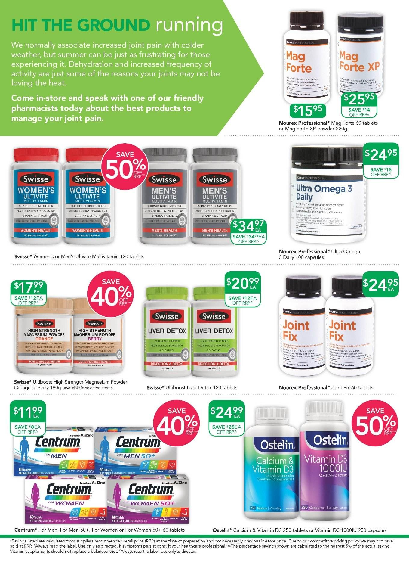 TerryWhite Chemmart catalogue  - 3.1.2019 - 22.1.2019. Page 4.