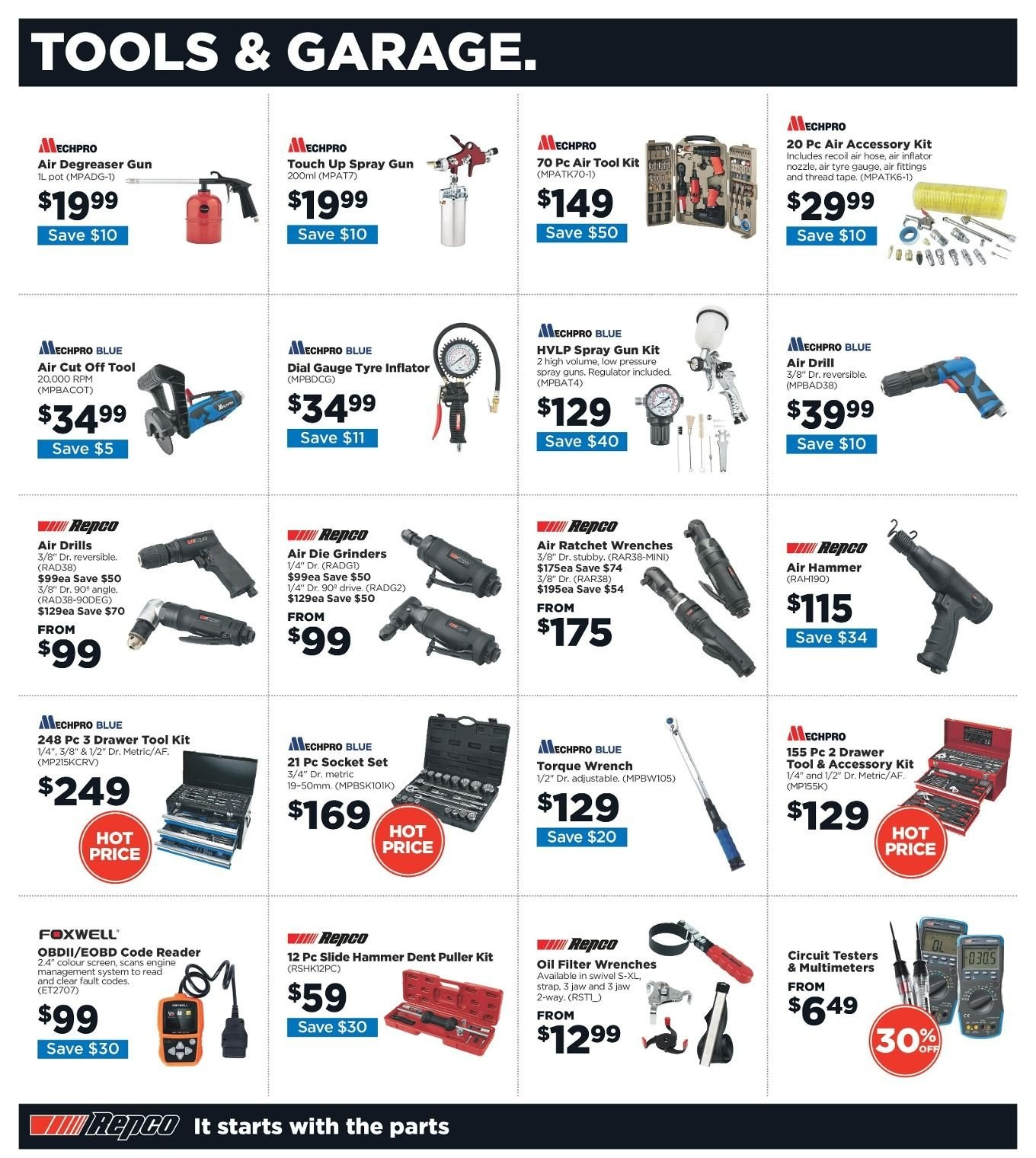 Repco catalogue  - 3.1.2019 - 13.1.2019. Page 2.