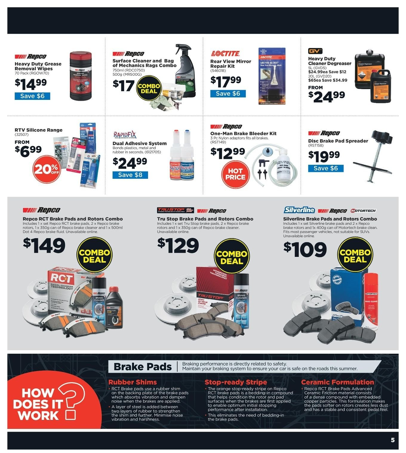 Repco catalogue  - 3.1.2019 - 13.1.2019. Page 5.