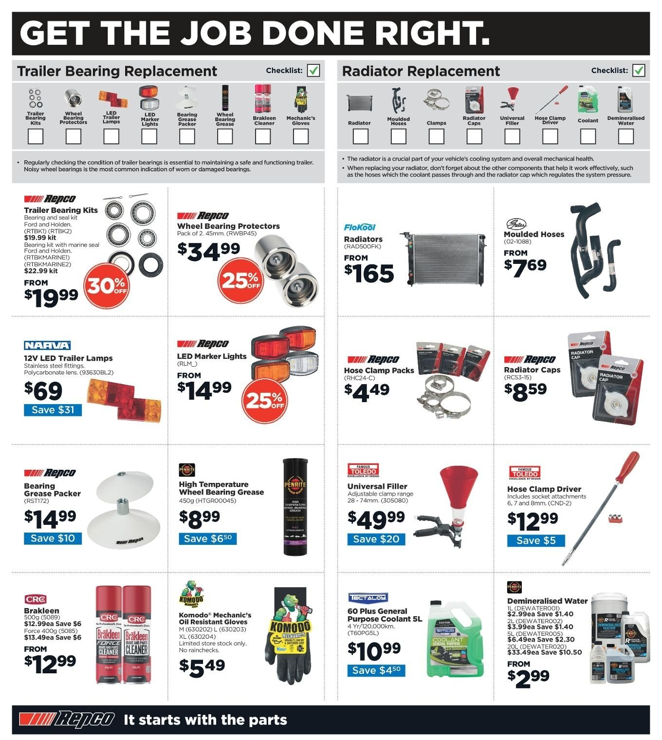 Repco catalogue  - 3.1.2019 - 13.1.2019. Page 6.