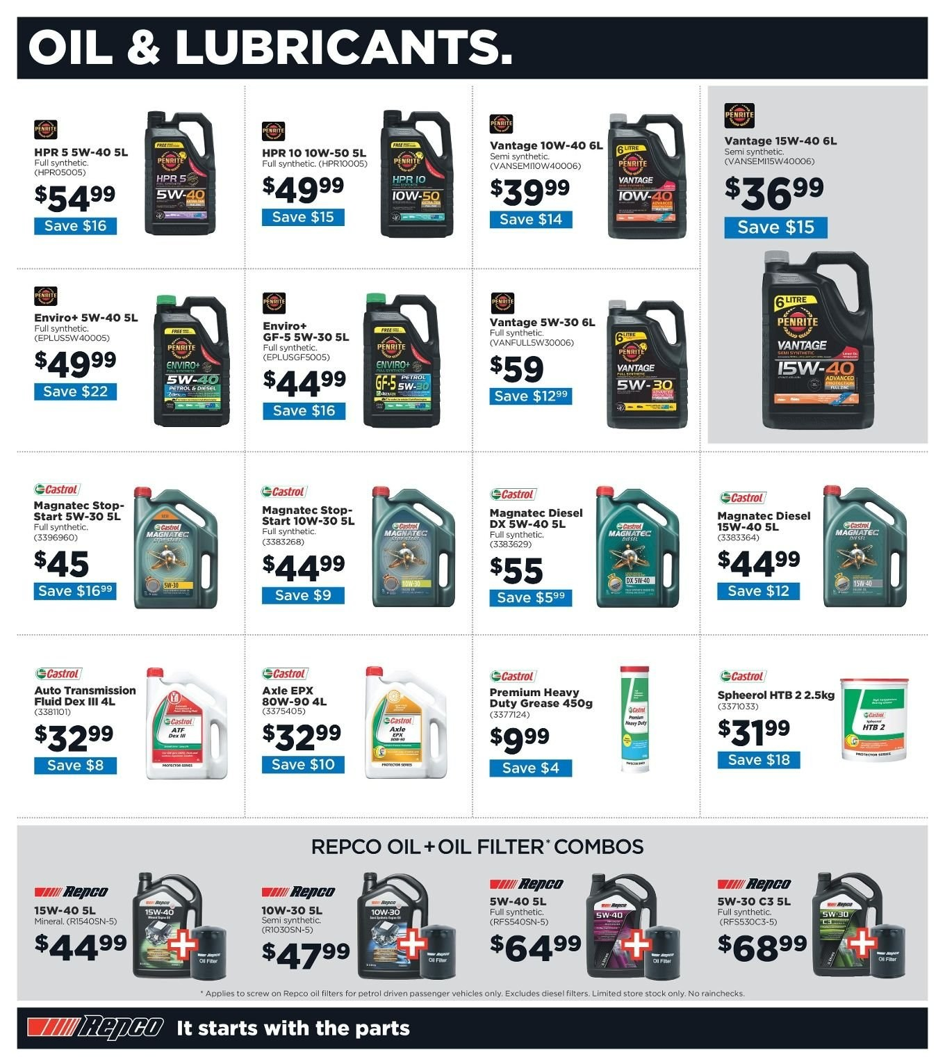 Repco catalogue  - 3.1.2019 - 13.1.2019. Page 8.