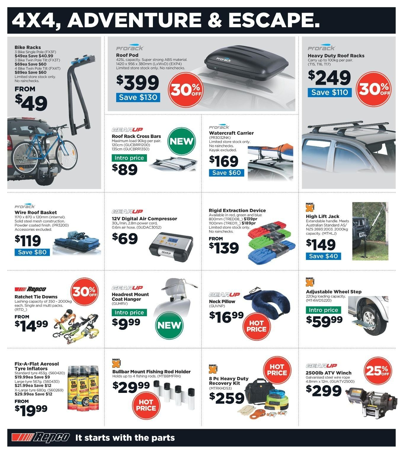 Repco catalogue  - 3.1.2019 - 13.1.2019. Page 10.
